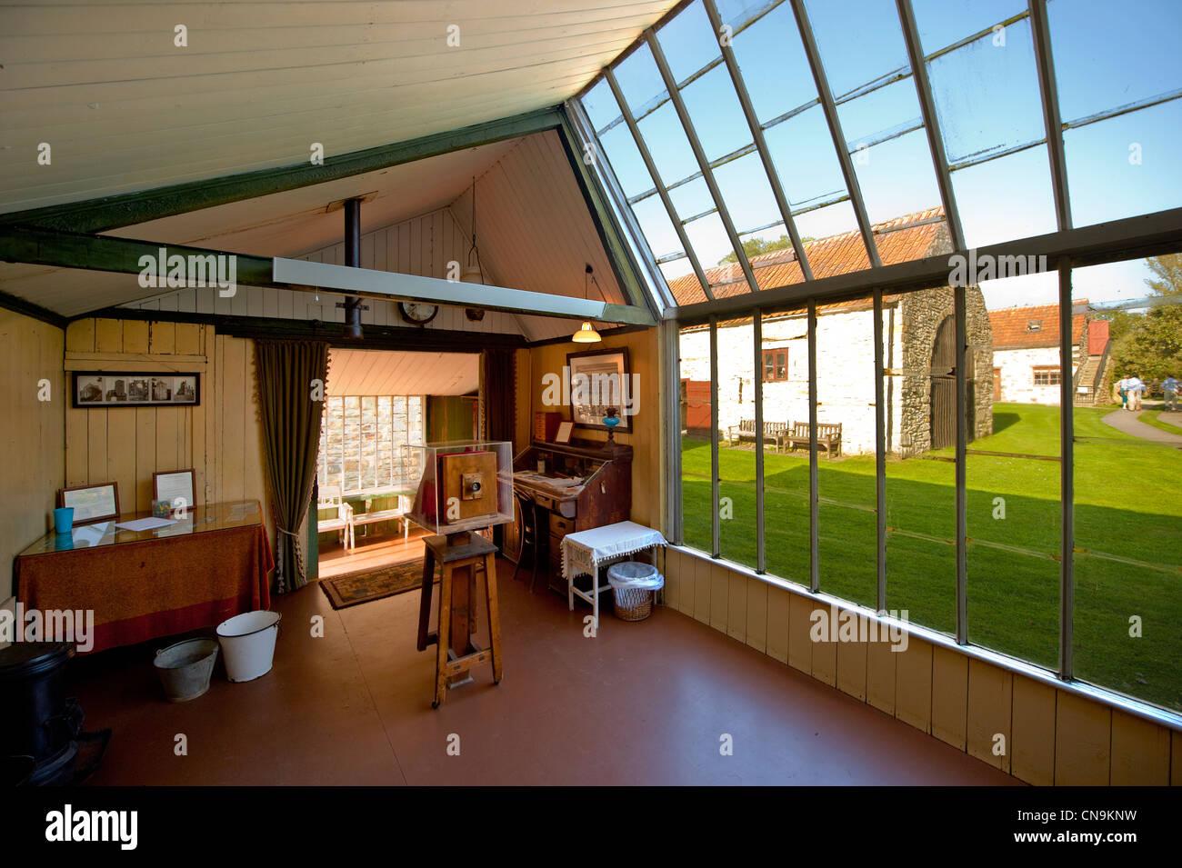 William Hayes 1911 studio lumière du jour de Hutton Le trou à l'Ryedale Folk Museum, Hutton Le Hole. Photo Stock