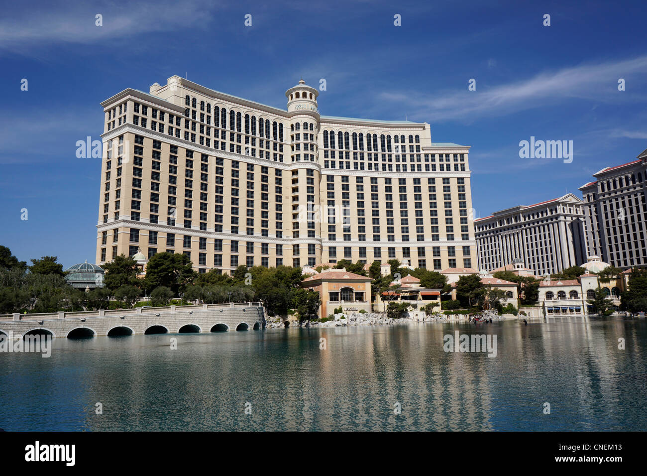 Bellagio Hotel and Casino, Las Vegas, Nevada, USA Photo Stock