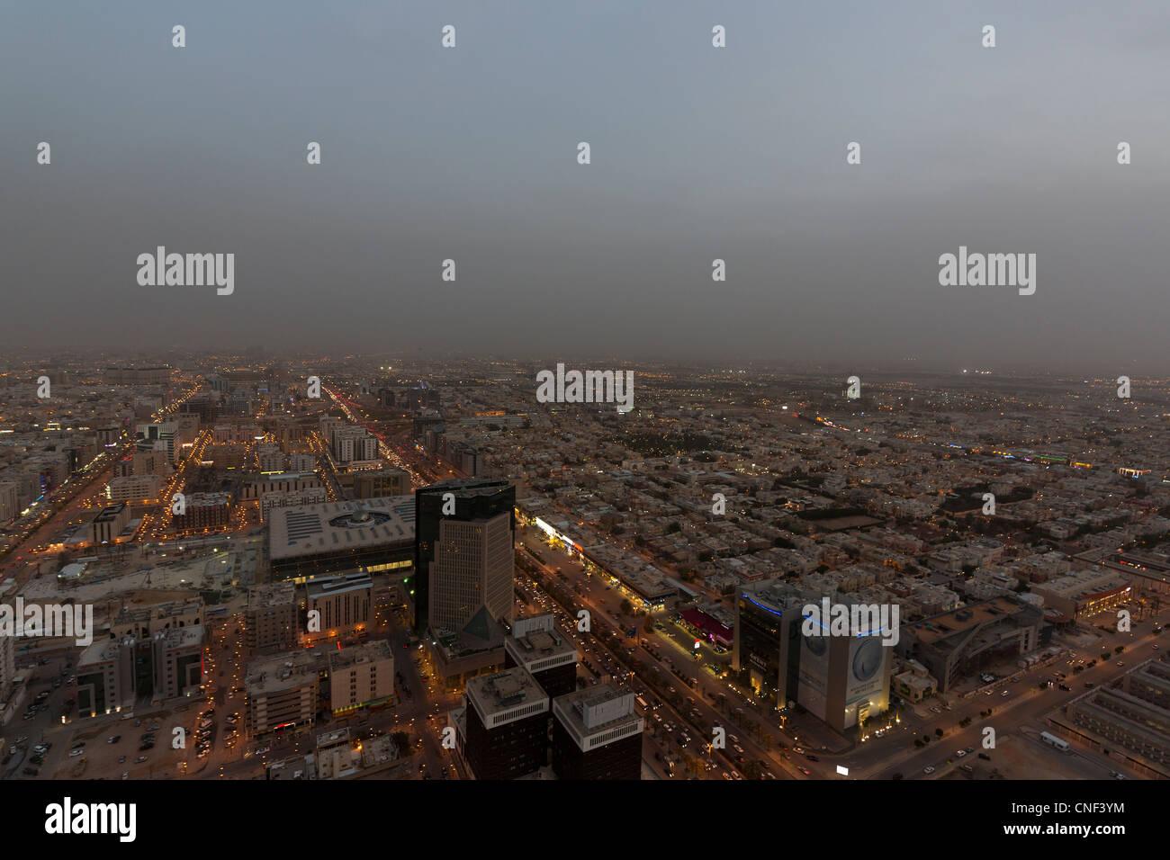 Avis de Riyadh, Arabie Saoudite Photo Stock