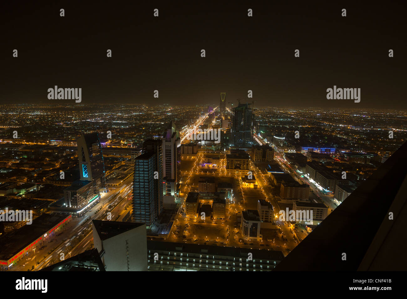 Avis de Riyadh, Arabie Saoudite Photo Stock