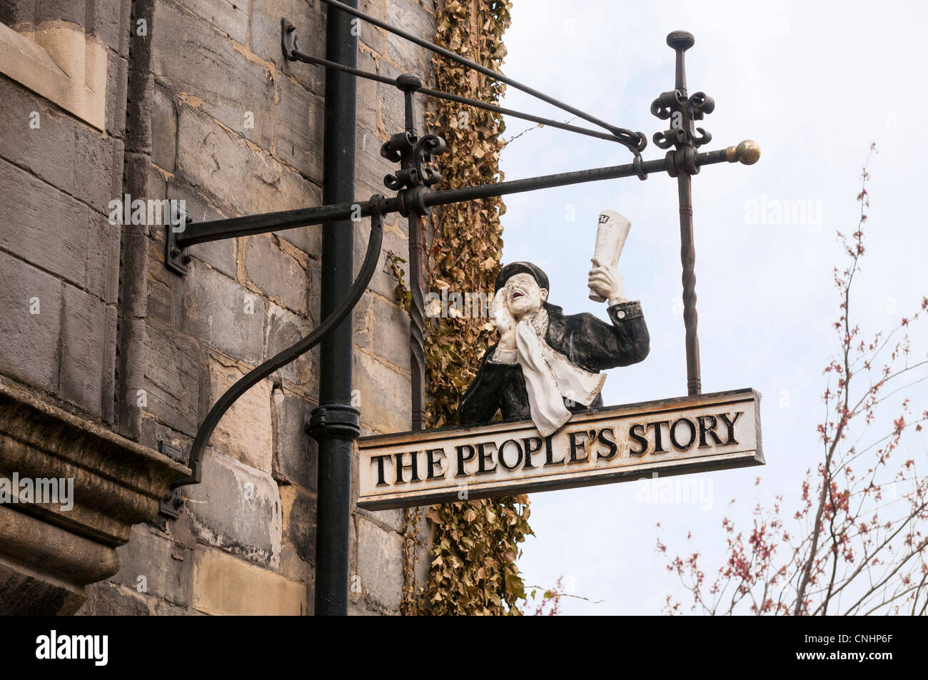 L'histoire du peuple - du Conseil d'Édimbourg Museum. Photo Stock