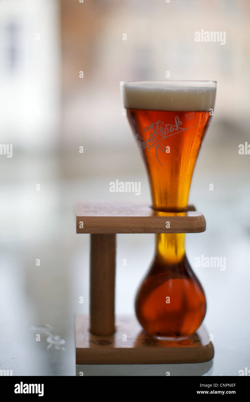 Photographie de la bière alcool verre mural sticker autocollant c1962