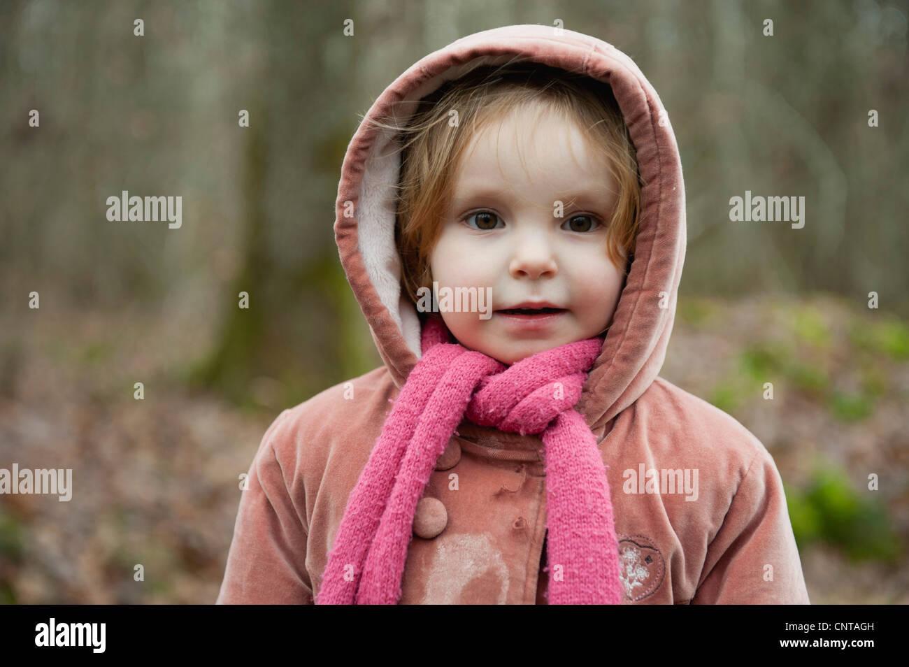 Little girl, portrait Banque D'Images