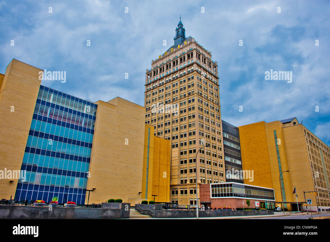 Eastman Kodak Company siège, Rochester New York Photo Stock