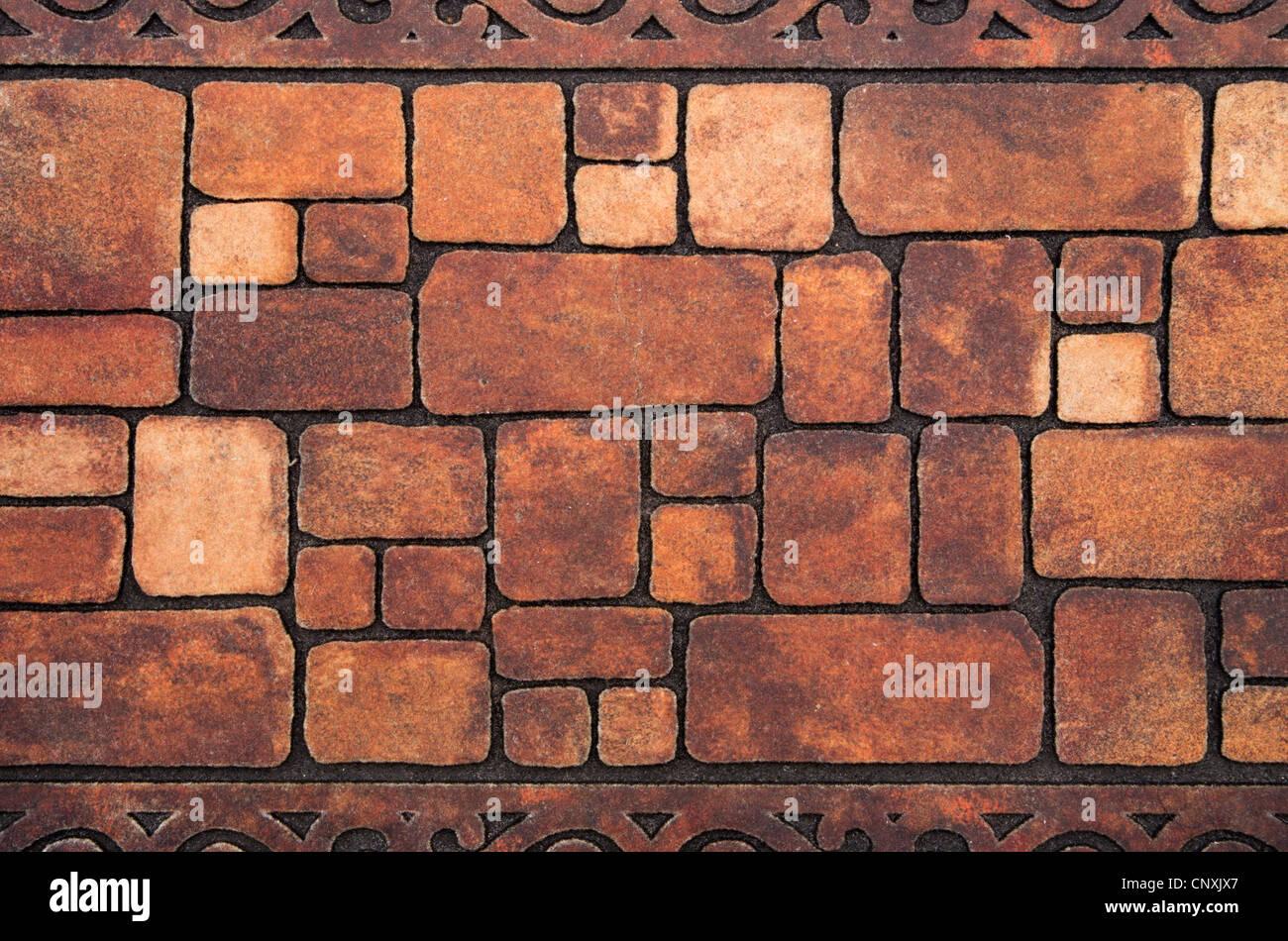 Arrière-plan de la texture du mur de pierre Photo Stock