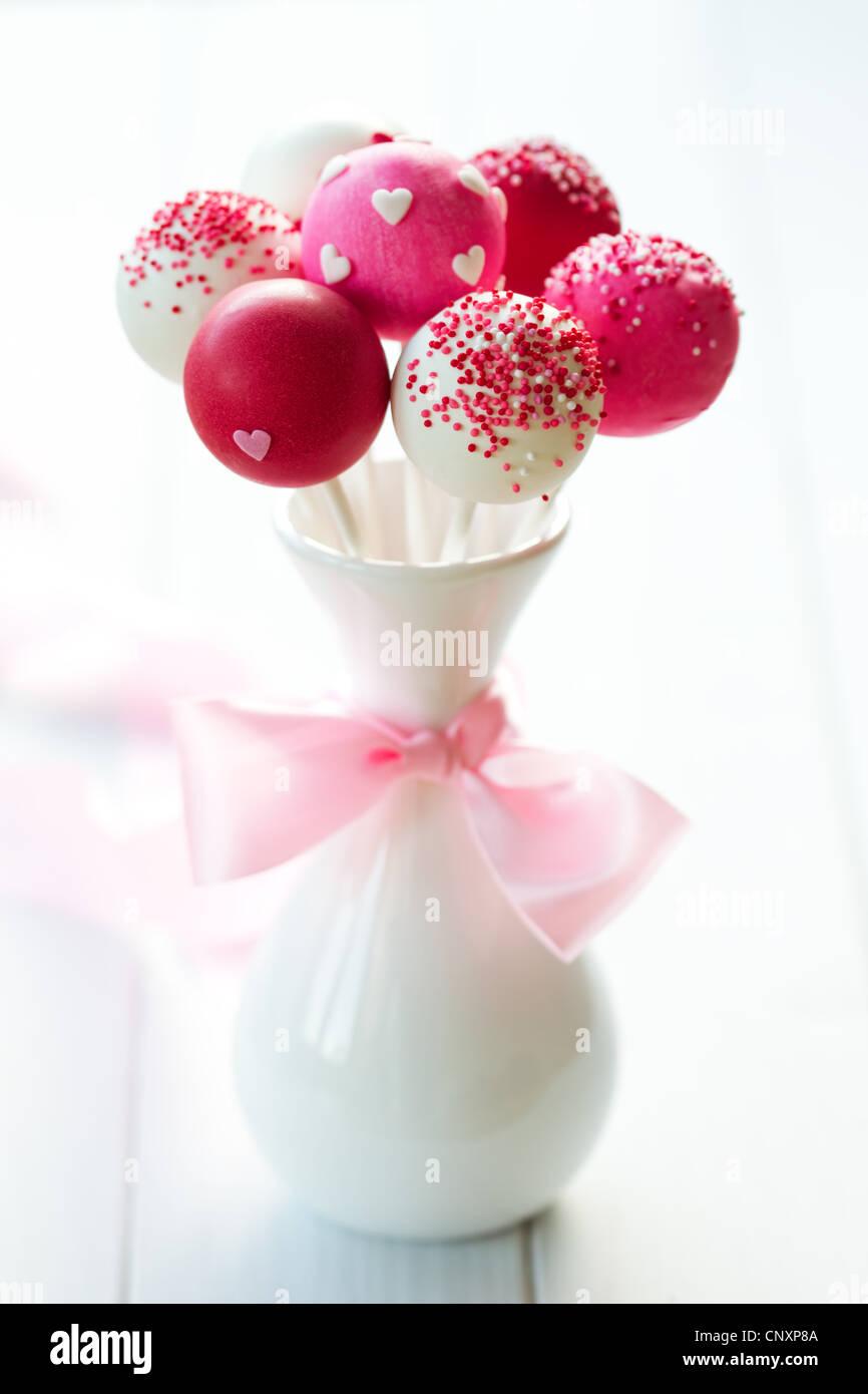 Wedding Cake pops Photo Stock