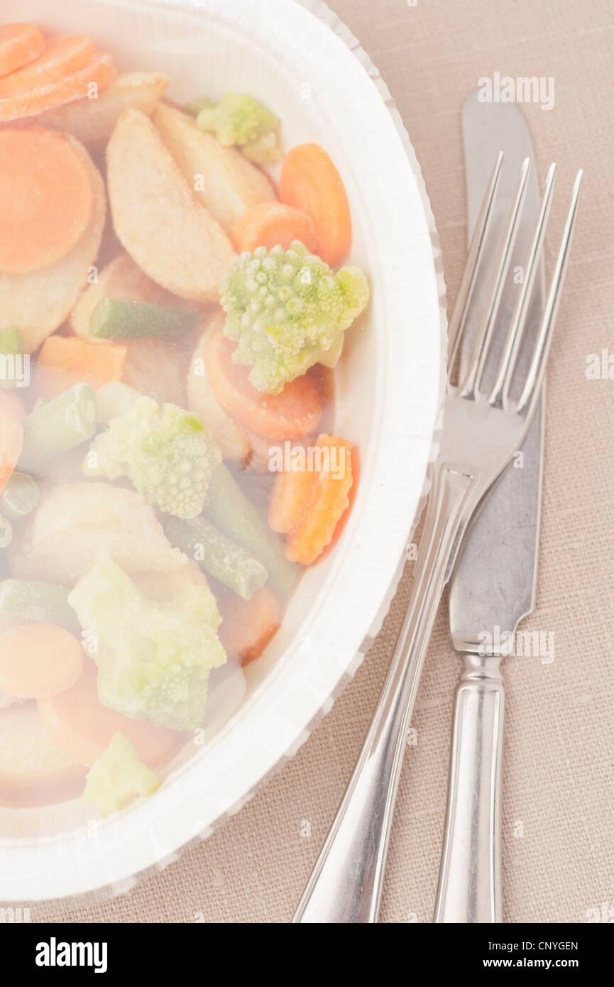 Tv Meal Banque d'image et photos - Alamy