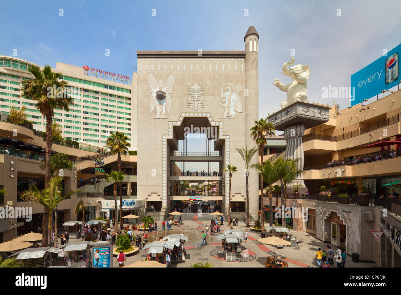 Kodak Theater, Hollywood, Los Angeles Photo Stock