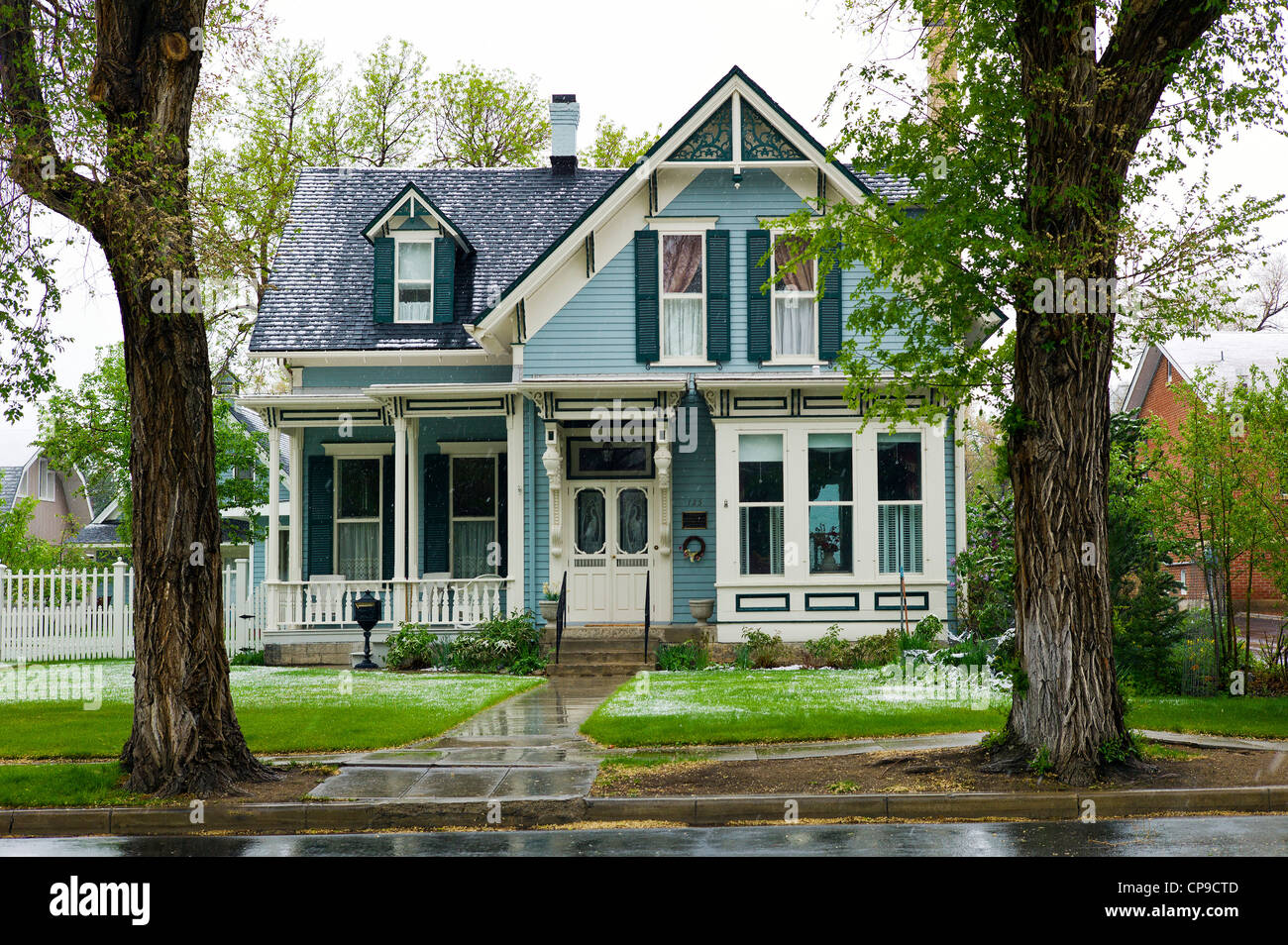 Style architectural victorien photos style architectural victorien images alamy - Maison victorienne ...