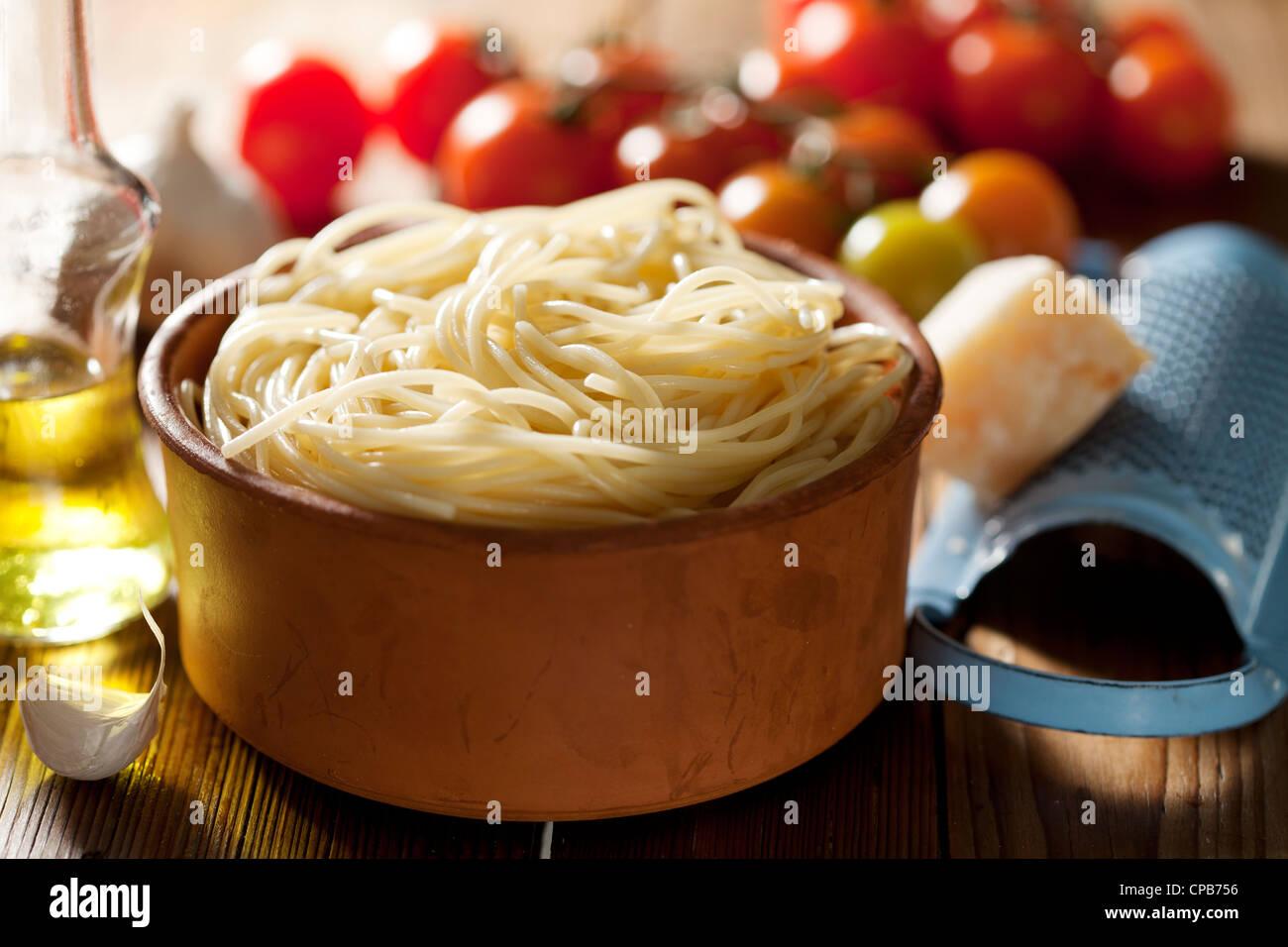pâtes alimentaires Photo Stock