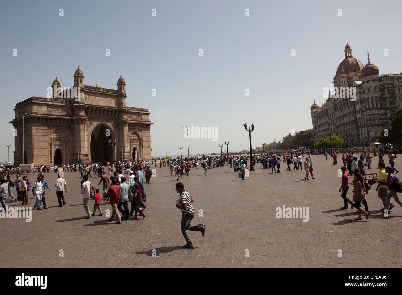 Passerelle vers l'Inde - Mumbai (Bombay) Photo Stock
