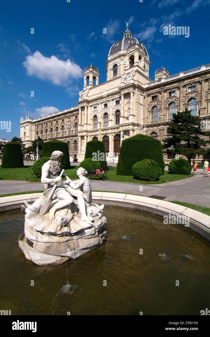 Musée d'Histoire Naturelle, Vienne, Autriche, Europe Photo Stock
