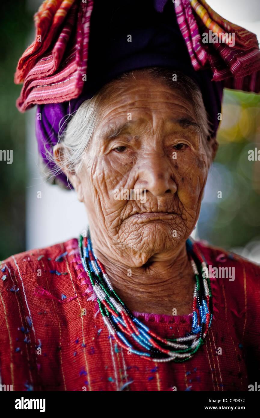 Panajachel, Western Highlands, Guatemala, Amérique Centrale Photo Stock