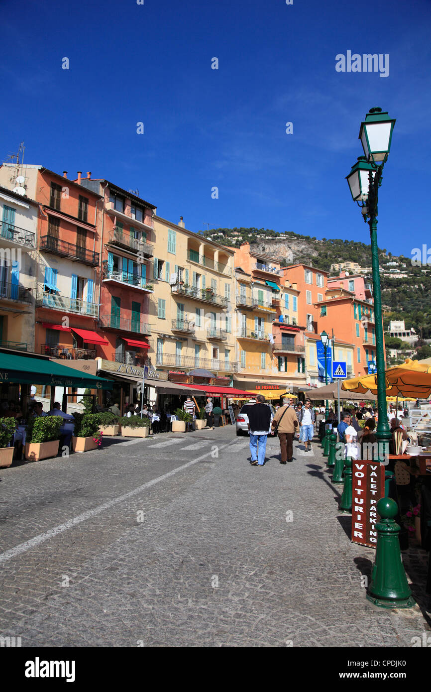 Villefranche sur Mer, Alpes Maritimes, Côte d'Azur, French Riviera, Provence, France, Europe Photo Stock
