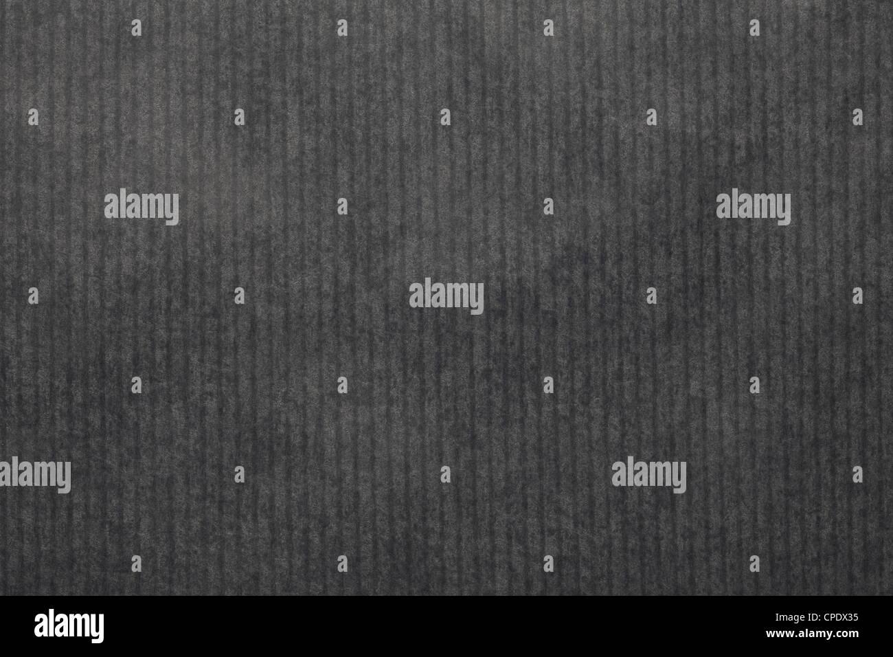 Papier rayé noir texture background Photo Stock