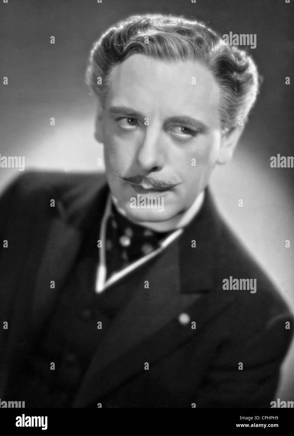 Johannes Riemann dans 'Bel Ami', 1939 Photo Stock