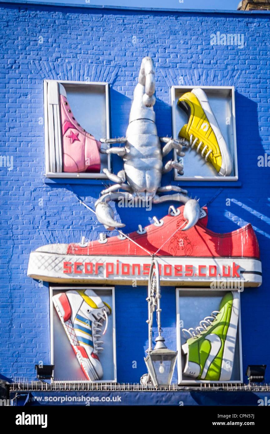 chaussures Market Ville Camden magasin London Lock de USMVpz