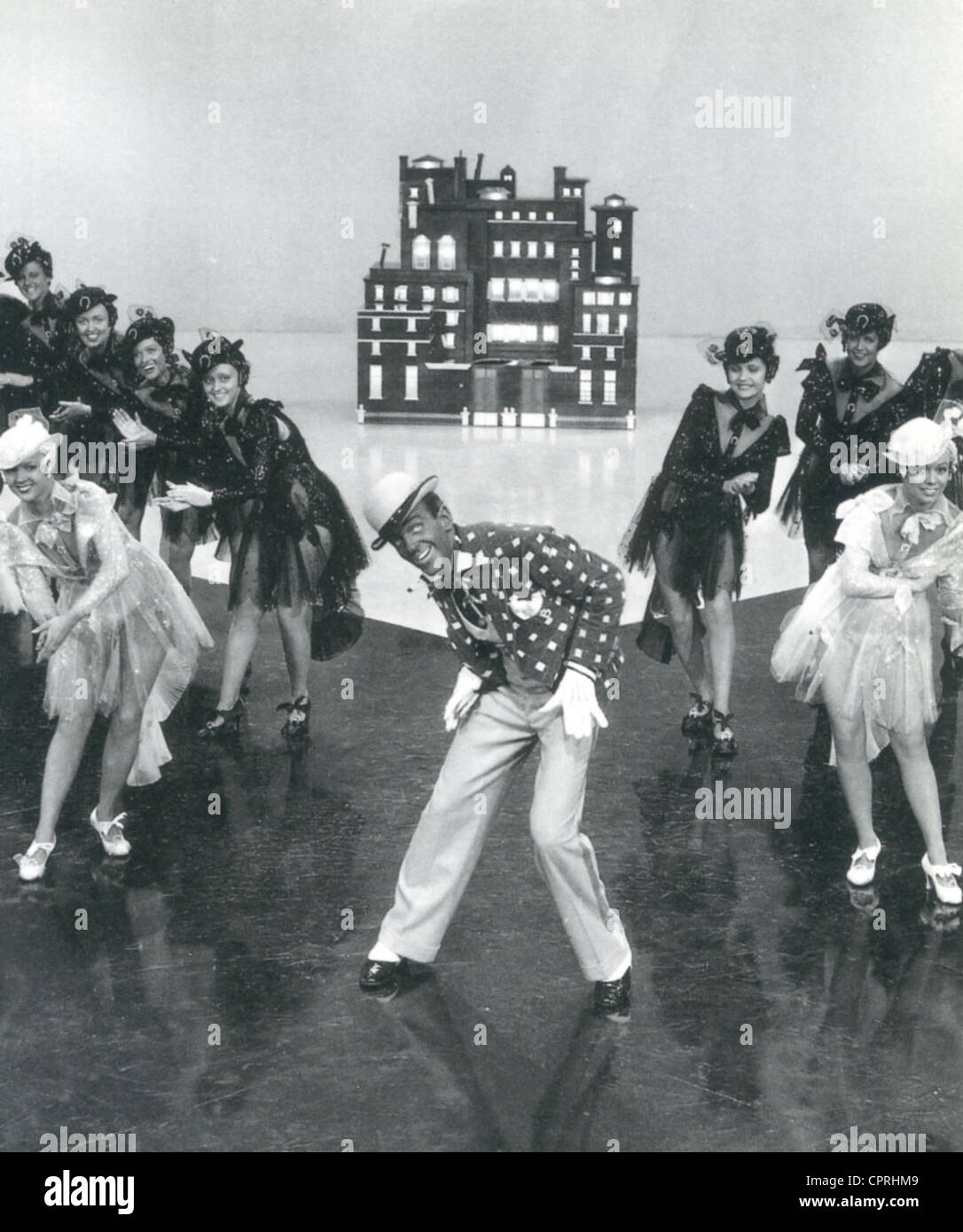 SWING TIME 1936 RKO film avec Fred Astaire dans blackface pour l 'Bojangles of Harlem' nombre Photo Stock
