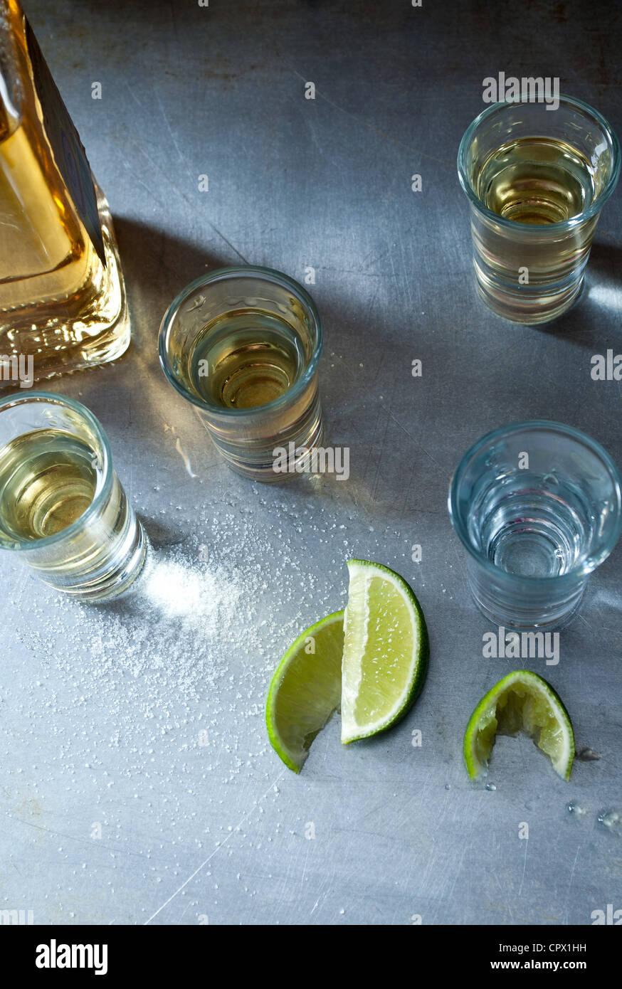 Photos de tequila Banque D'Images