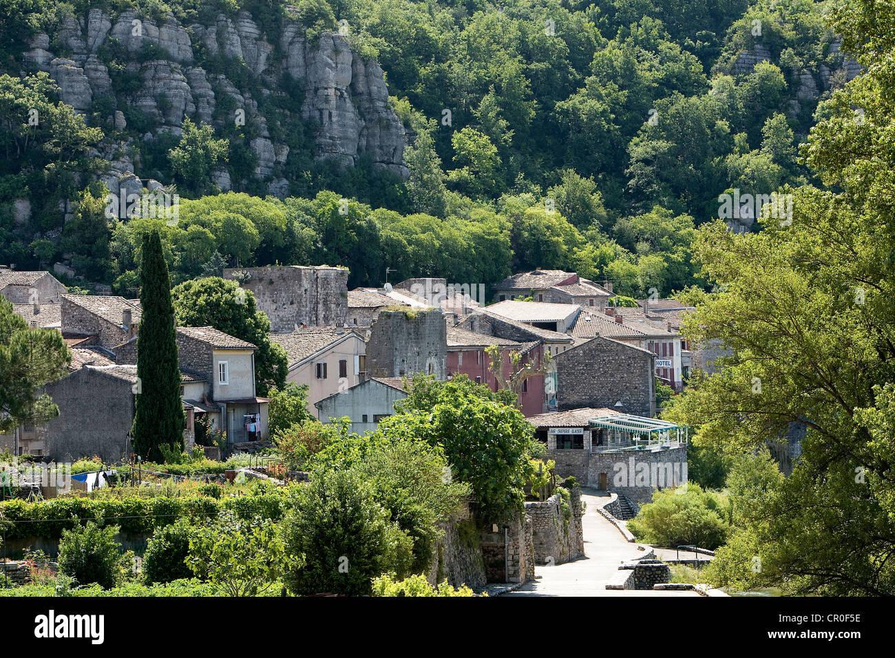 La France, l'Ardèche, Vogue Photo Stock