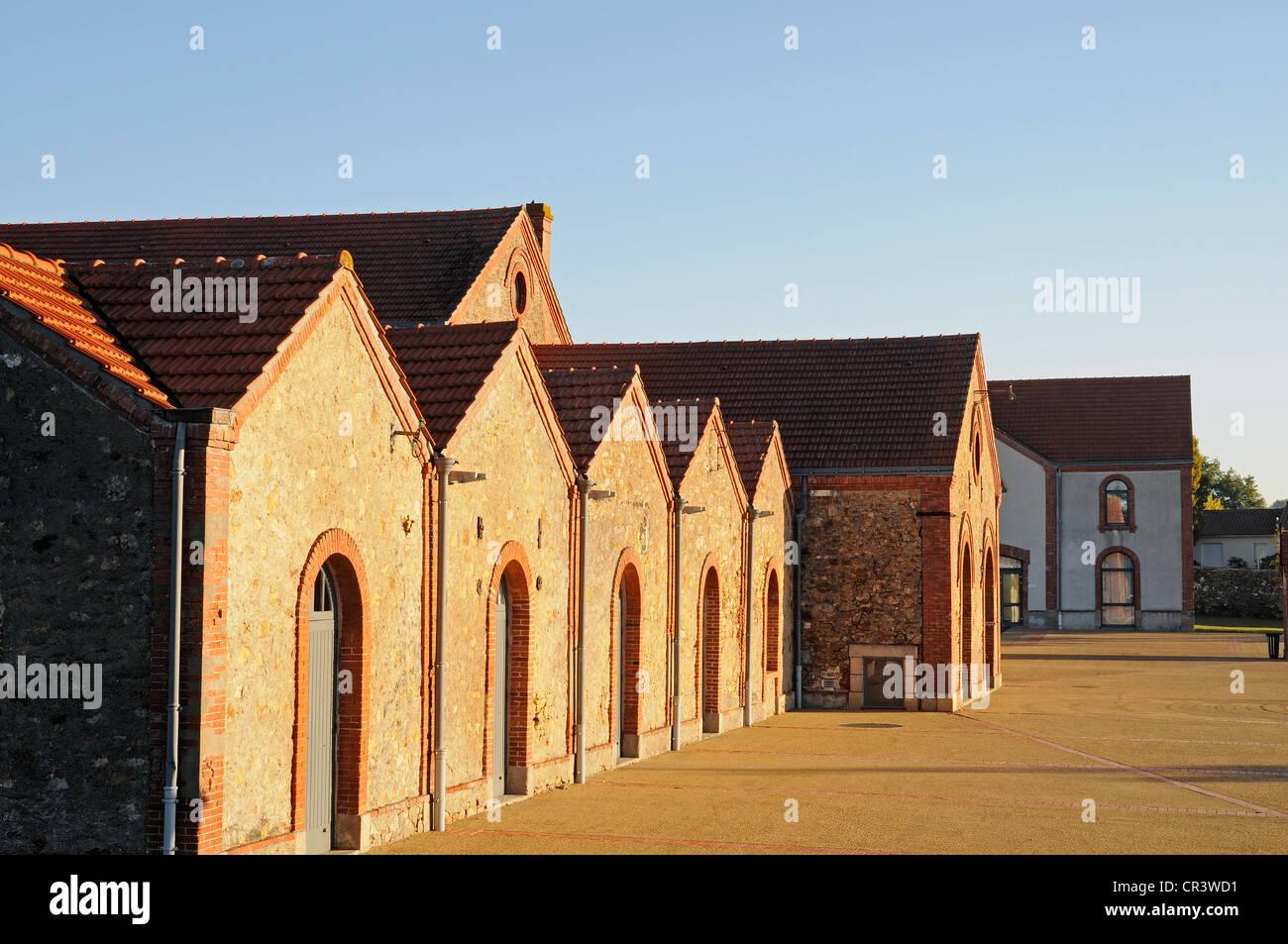 Musée du Textile, musée du textile, industrie textile, Cholet, Maine-et-Loire, Pays de la Loire, France, Photo Stock