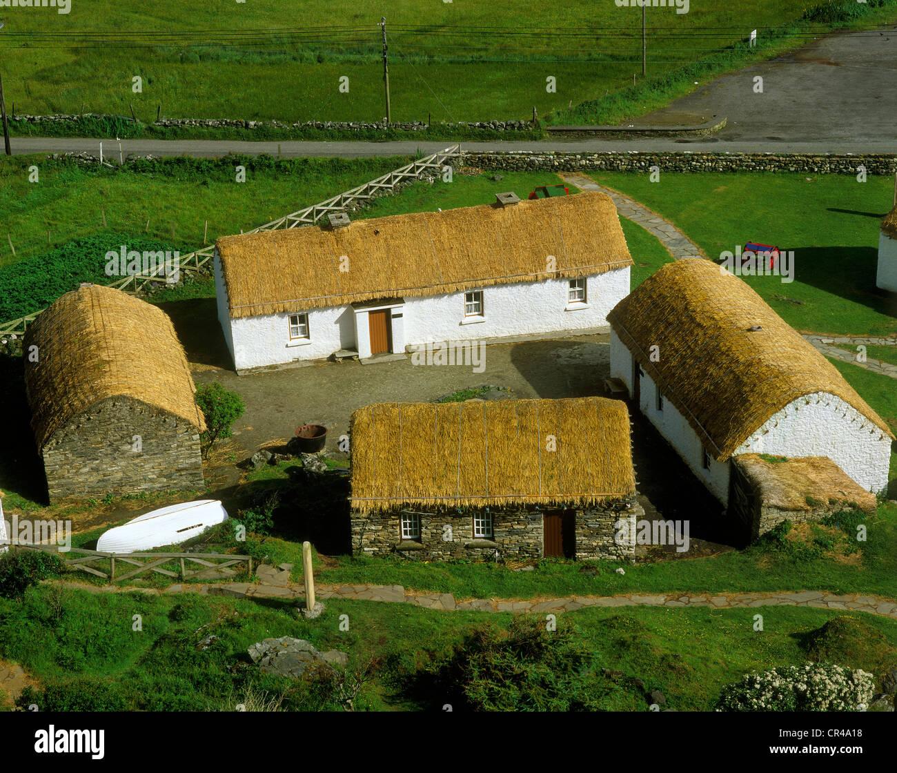 Musée de la culture traditionnelle, à Greeneville, comté de Donegal, en République d'Irlande, Photo Stock