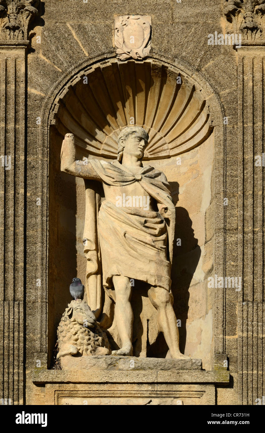 Abraham Statue Monument Sec Aix-en-Provence Provence France Photo Stock