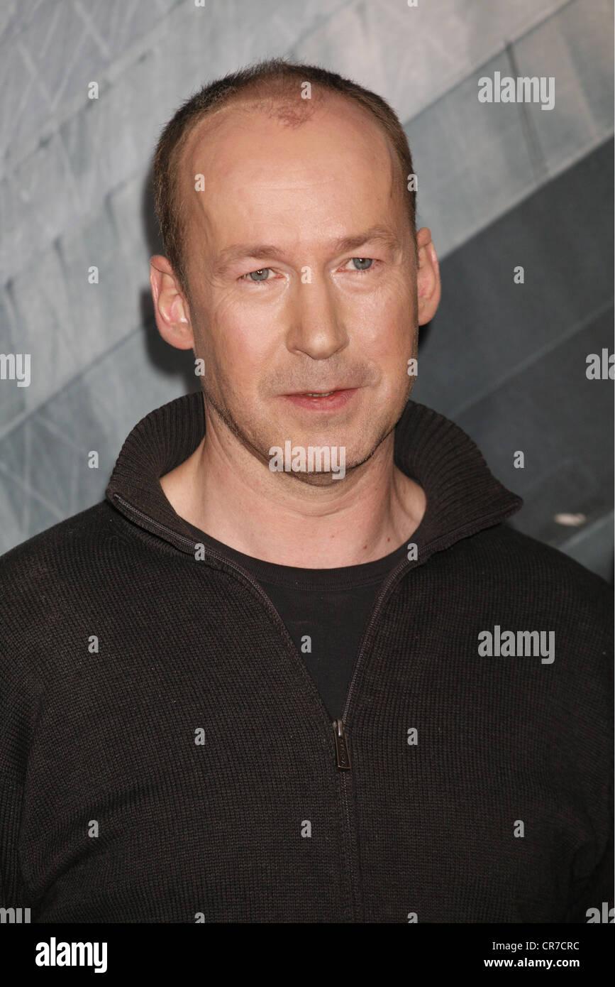 , Ulrich Noethen, *1959, acteur allemand, portrait, pendant une séance de photos à la télévision Photo Stock