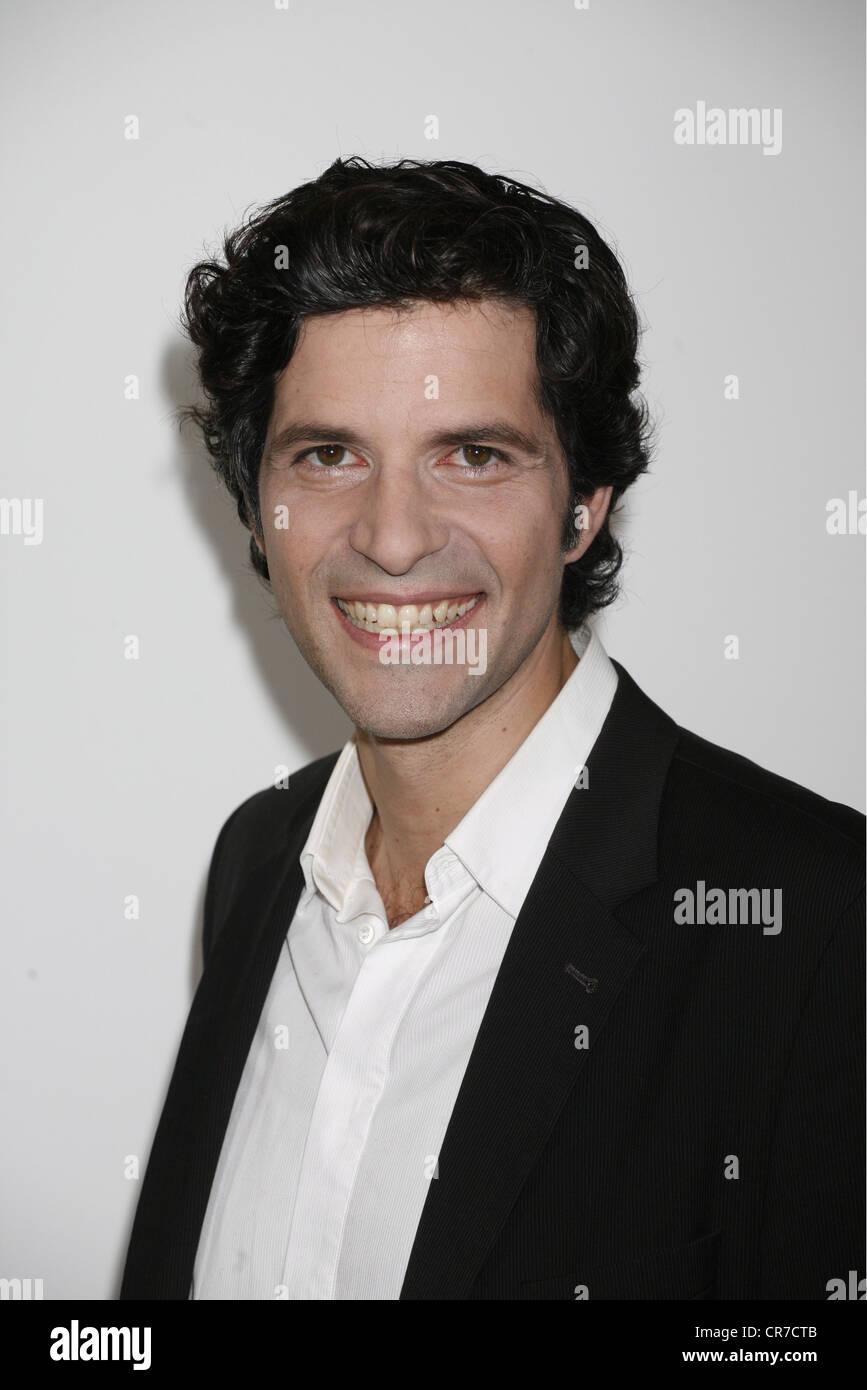 Aleardi, Pasquale, *1.6.1971, acteur Suisse, portrait, photocall pour le film de télévision allemande Photo Stock
