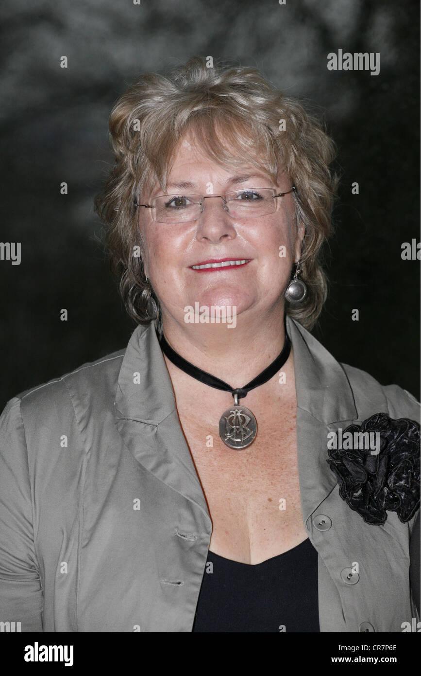 Fforde, Katie, * 27.9.1952, auteure britannique / auteur / scénariste, portrait, photocall au Réseau Film Photo Stock