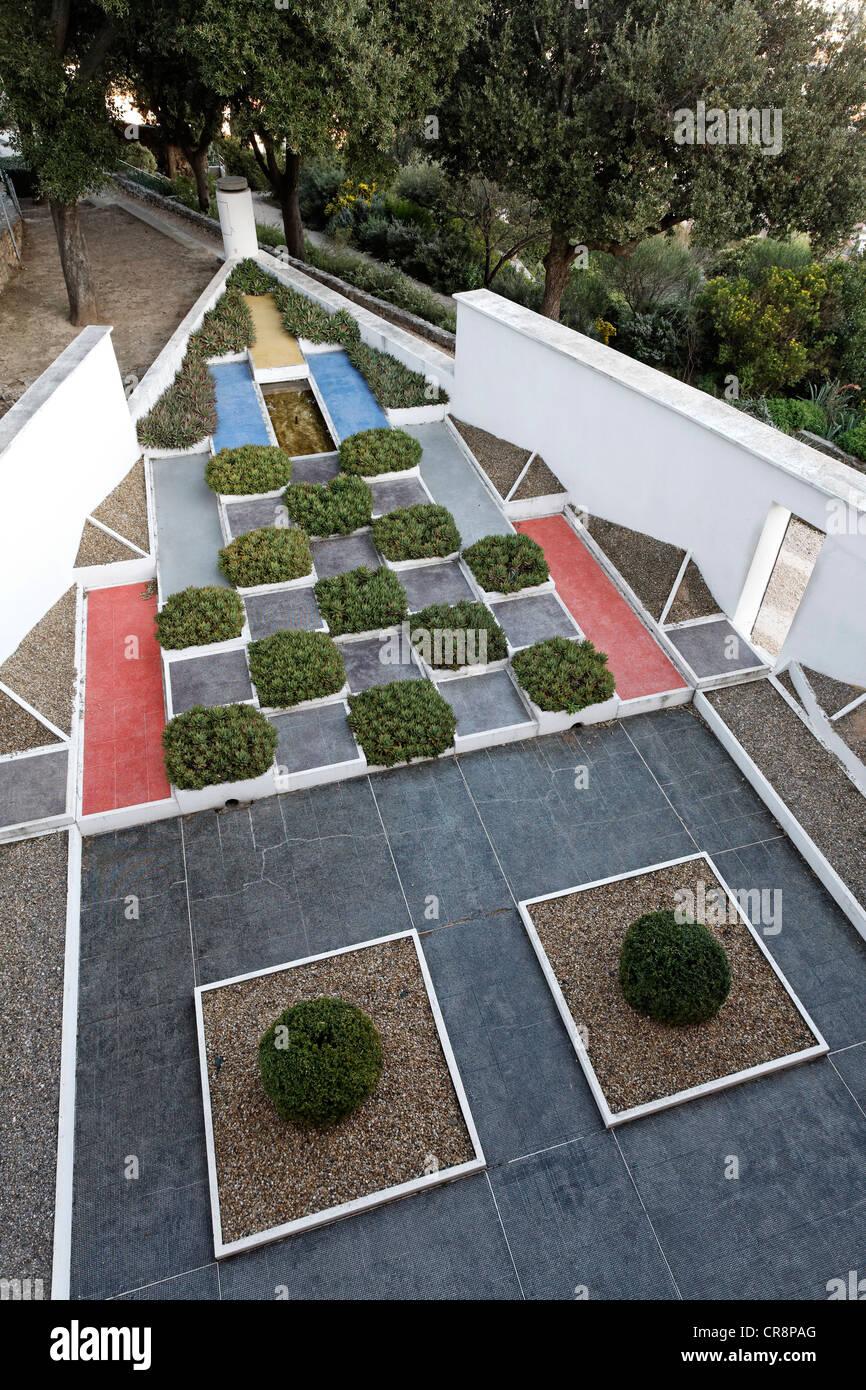 Le jardin cubiste, Villa Noailles, Hyères-les-Palmiers, Provence ...