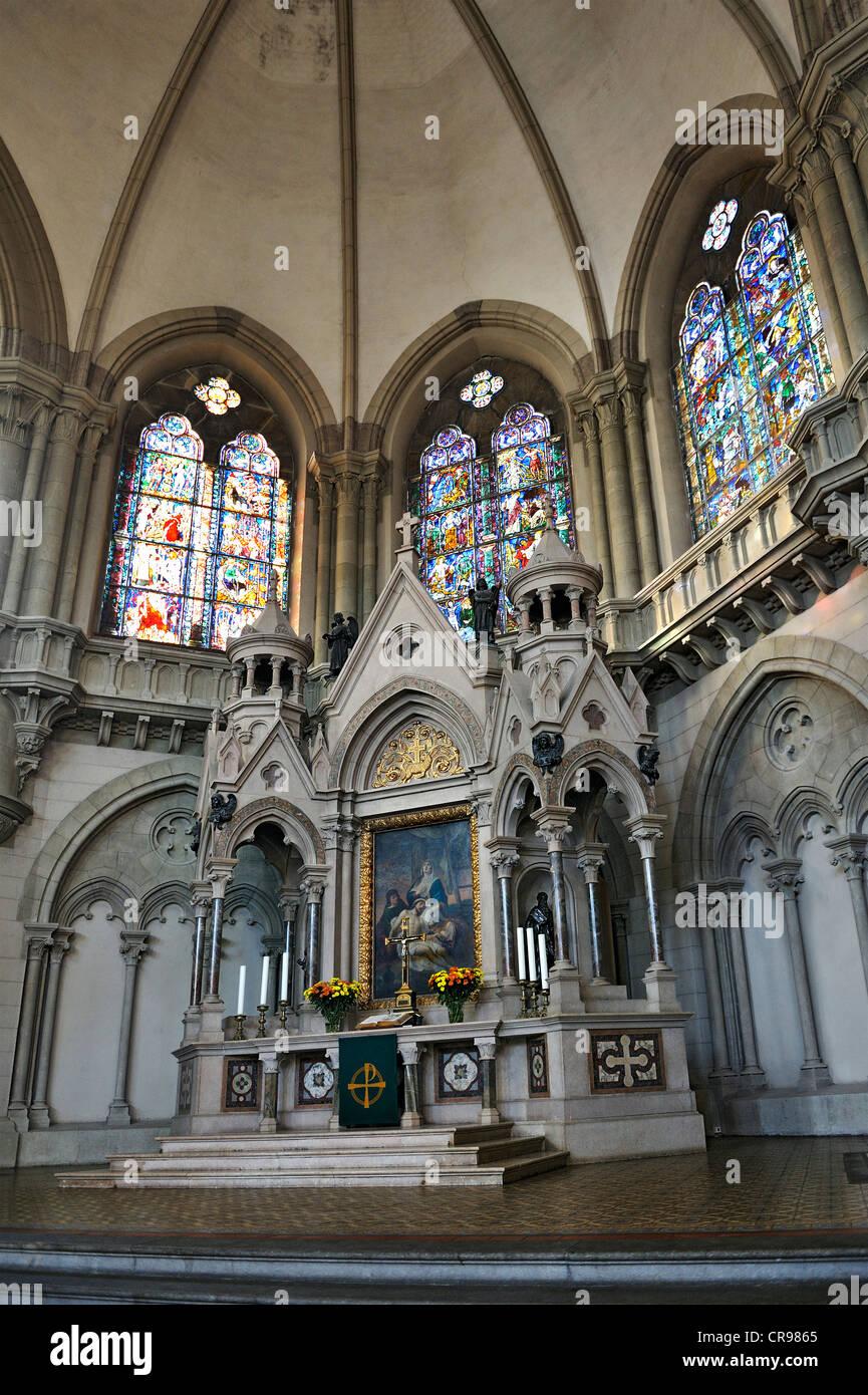 Architecture D Intérieur Saint Luc vue de l'intérieur, l'autel principal, st. lukas kirche