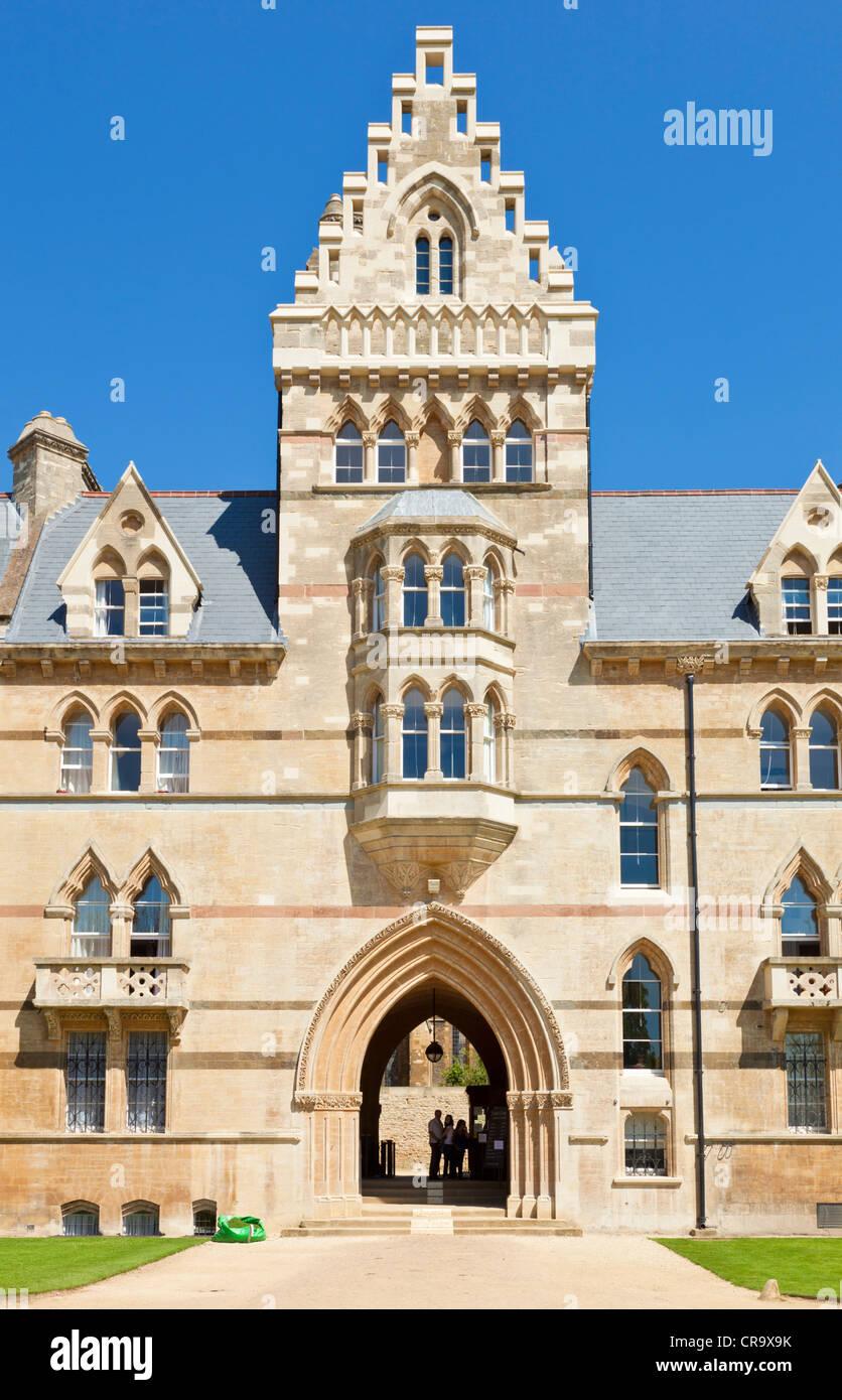 Christ Church college de l'Université d'Oxford Oxfordshire bâtiment pré England UK GB EU Photo Stock