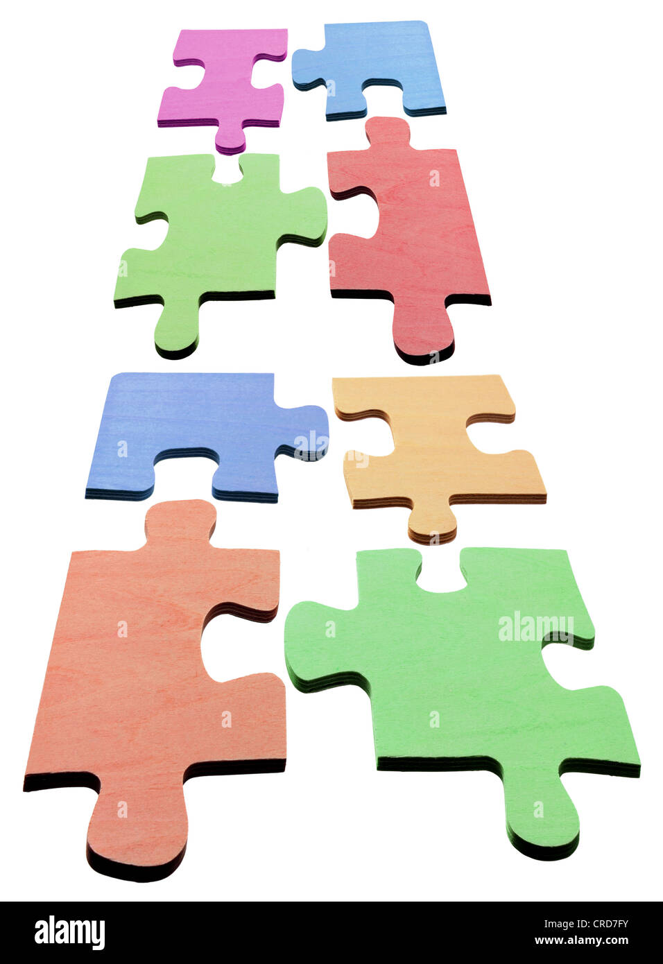 Jigsaw Puzzle Pieces Photo Stock