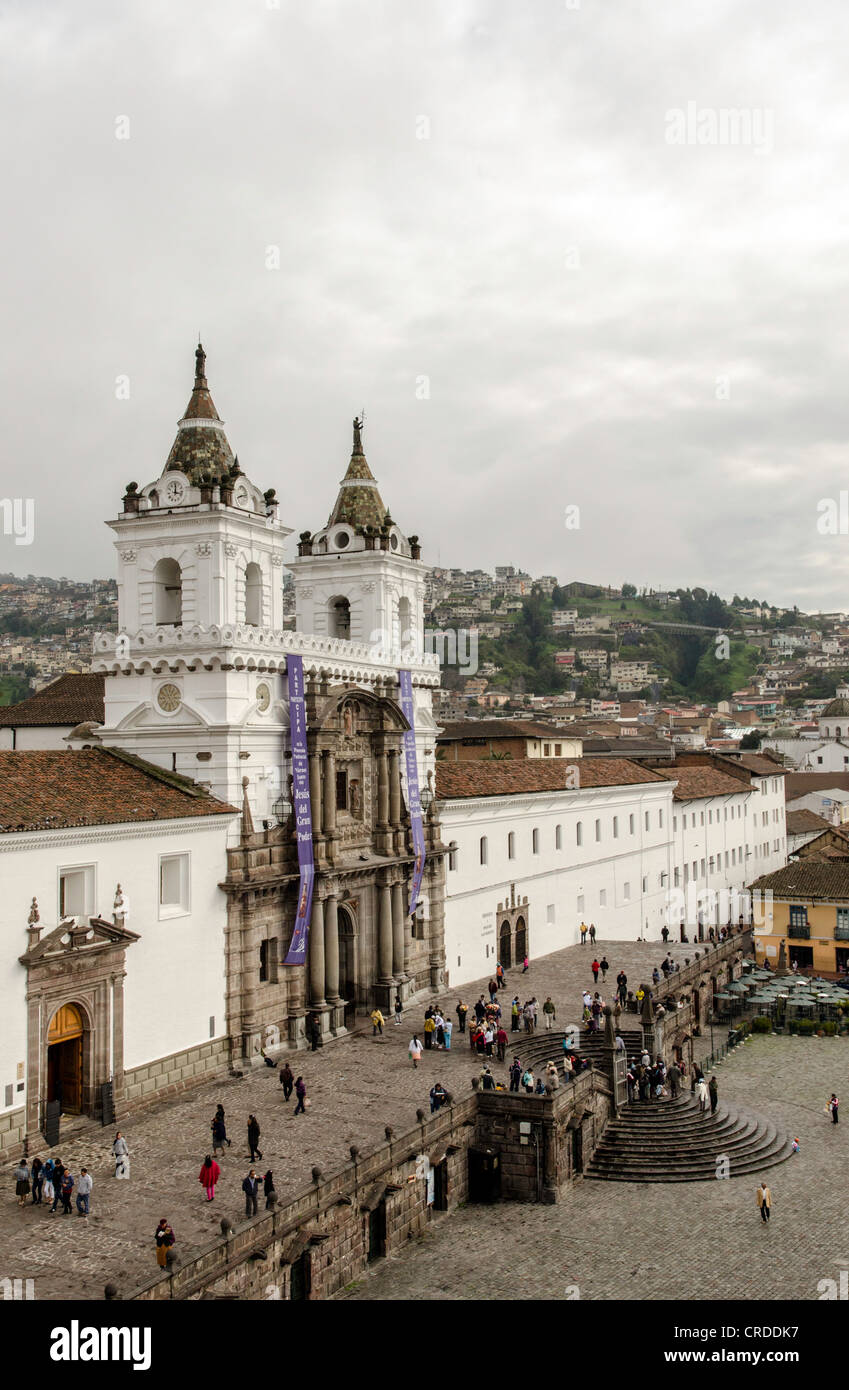 L'église Santo Domingo Equateur Quito Photo Stock