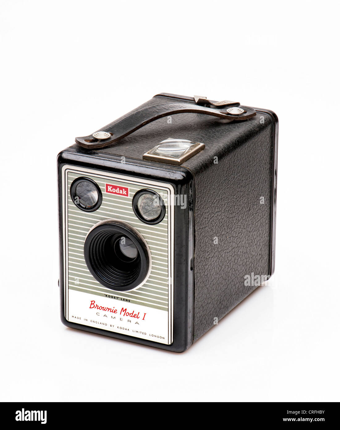 Boîte de Kodak Brownie Model 1 vintage camera Photo Stock