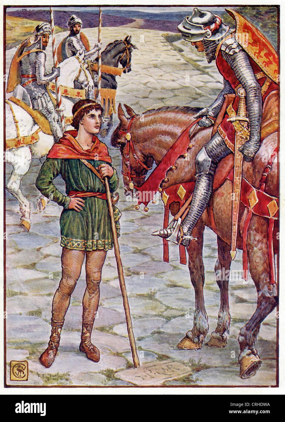 Perceval, Un Chevalier De La Table Ronde Du Roi Arthur