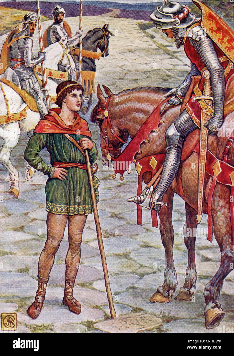Perceval un chevalier de la table ronde du roi arthur - La table ronde du roi arthur ...