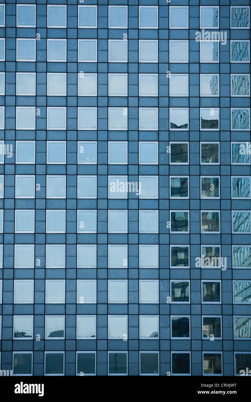 La façade de l'immeuble, full frame Photo Stock