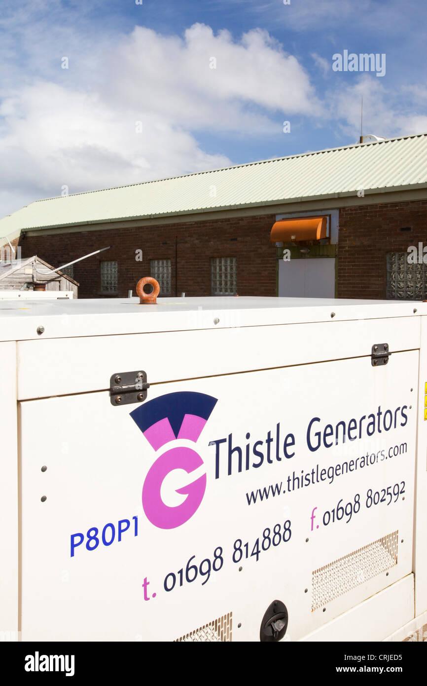 Un générateur diesel de secours sur l île de Eigg dont l électricité est f52f359a7433