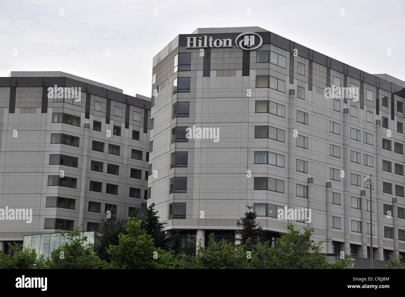 Hotel Hilton Paris Charles De Gaulle Banque D Images Photo Stock