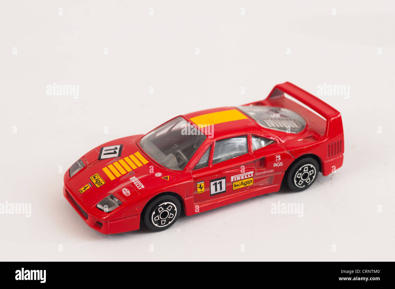 Ferrari F40 Burago Diecast Model Car Photo Stock