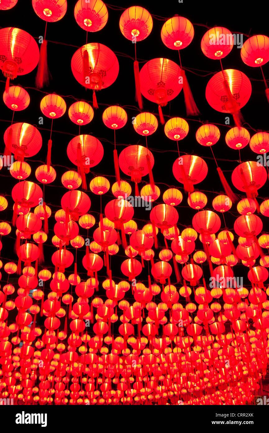 Thean Hou Temple chinois, Kuala Lumpur, Malaisie, Asie du Sud, Asie Photo Stock