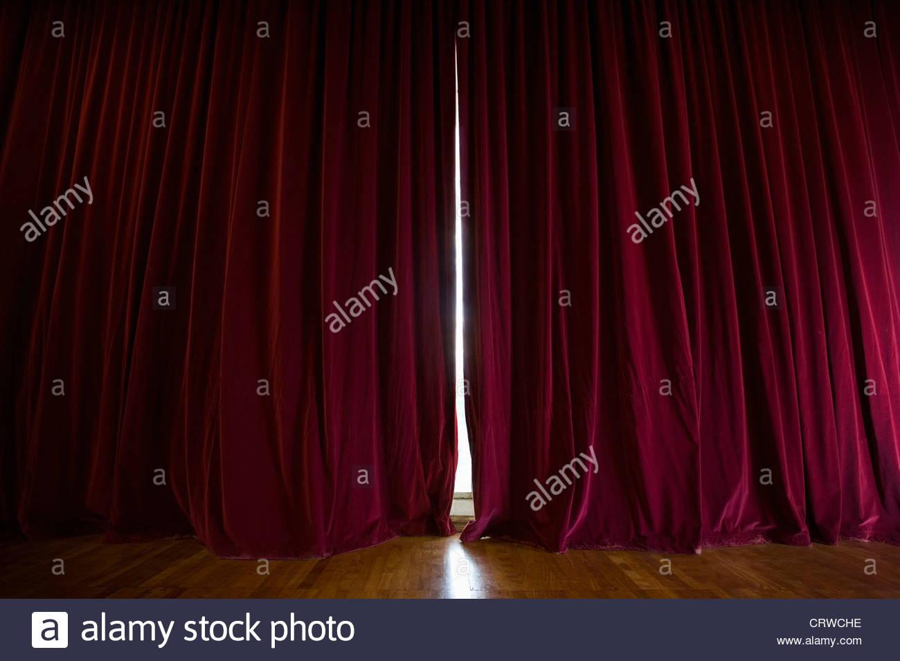 Rideaux de scène Banque D\'Images, Photo Stock: 49116522 - Alamy