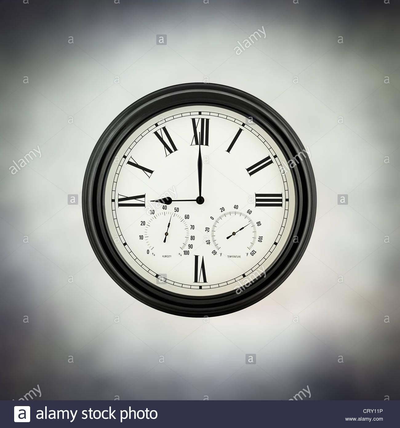 Neuf heures Photo Stock