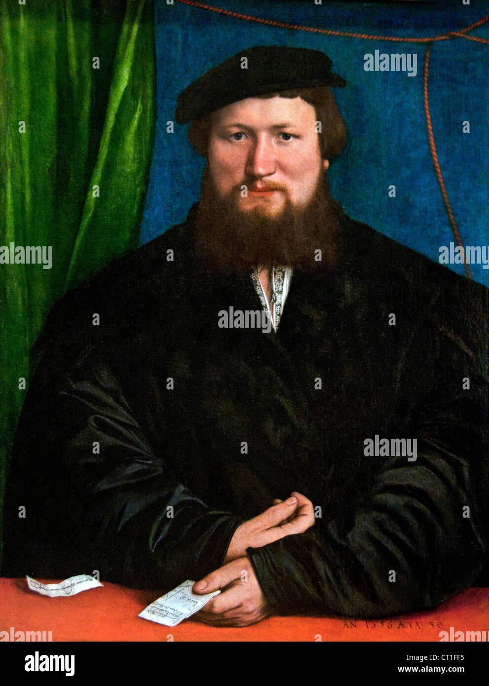 Derek Berck 1537 Hans Holbein le jeune Allemand Allemagne Photo Stock