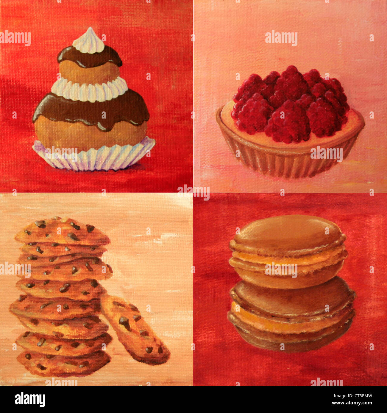 Pâtisserie Dessin Banque D Images Photo Stock 49293801