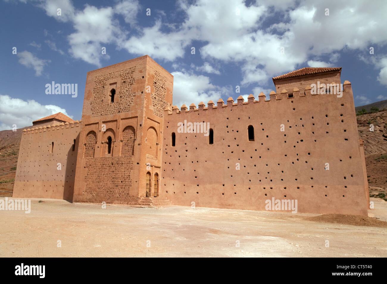 Le 12ème siècle, la mosquée de Tin Mal région du Haut Atlas, Maroc Sud Photo Stock