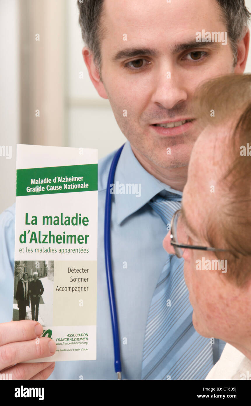 La prévention de la maladie d'Alzheimer Photo Stock