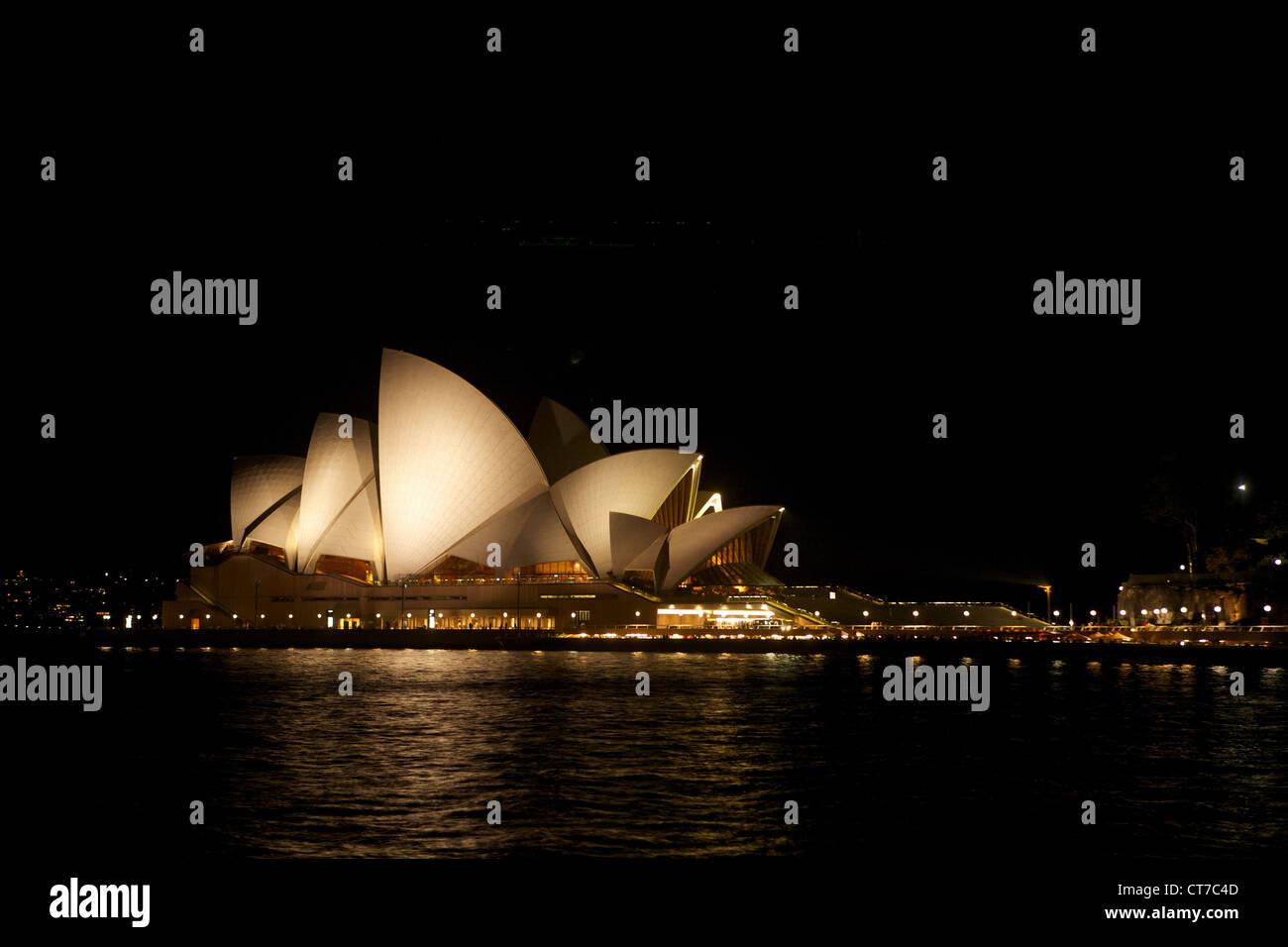 L'Opéra de Sydney, Sydney, Australie Photo Stock
